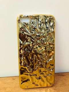 iPhone 7/8 plus case (金色)手機殼