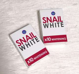 Snail White X10 Whitening Effect Soap
