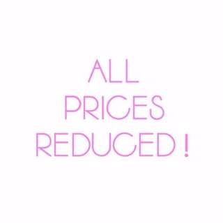PRICES REDUCED! :)