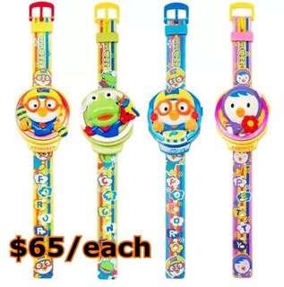 代購--Pororo 電子音樂手錶,$65