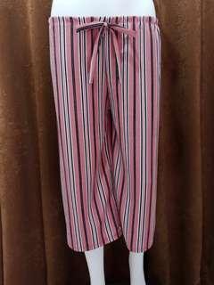 Cullotes Pants (Pink)