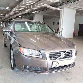 VOLVO S80 FOR RENT