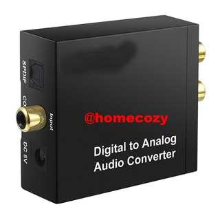 (BN) Digital to Analog Audio Converter (Brand New)