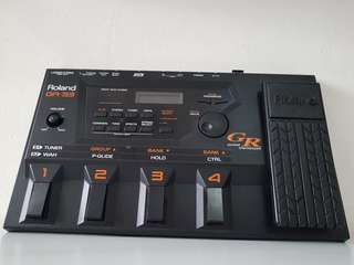 Roland GR-33 MIDI Guitar Synthesizer. A must for modern guitarist! Instant EDM