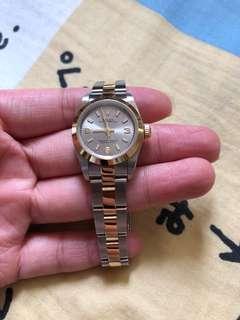 Rolex ladies 76138金鋼灰面369