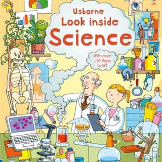 Usborne Hard Cover book*Look Inside Science*Educational book*Children book*Birthday gift*Pre school toy*