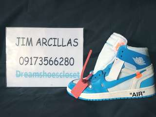 Jordan 1 Retro High Off-White UNC