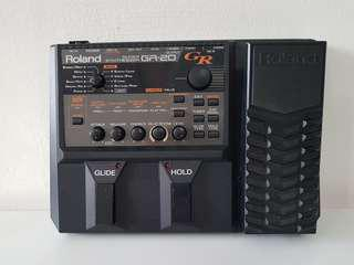 Roland GR-20 MIDI Guitar Synthesizer. A must for modern guitarist. Instant EDM