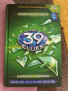 The 39 Clues: One False Note (No Cards)