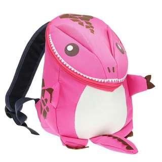 dinosaur backpack - pink