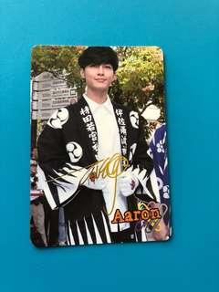 (包郵) 炎亞綸 Yes卡 金簽/ Aaron Yes Card