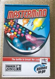 Mastermind Games to Go Board Game by Hasbro