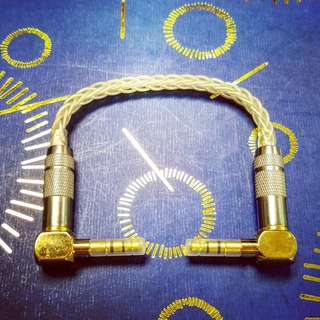 3.5mm to 3.5mm 粗純銀過機線