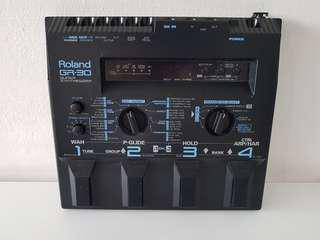 Roland GR-30 MIDI Guitar Synthesizer. A must for modern guitarist. Instant EDM