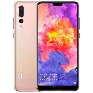 Huawei P20 Pink Gold 128G Full Set