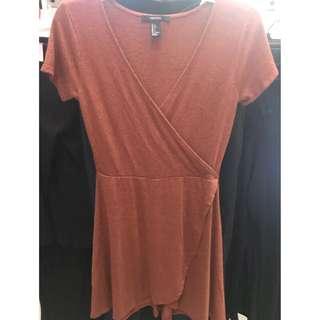 💕FOREVER 21 Peach Dress
