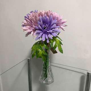 NEW Purple Gerbera Bouquet Bunch