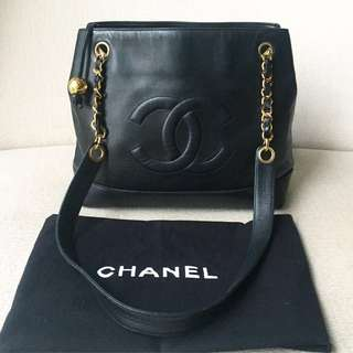 AUTHENTIC CHANEL Timeless CC Shoulder Tote Bag