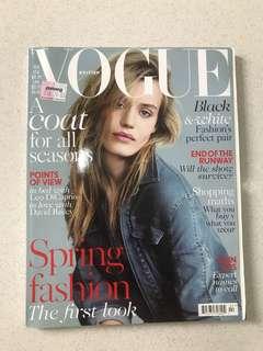 British Vogue 2014 Feb edition