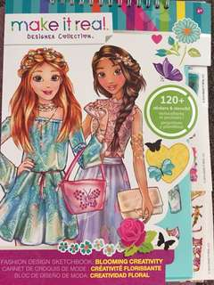 Fashion Designing Book for Little Girls