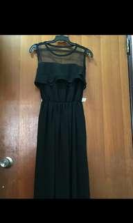 🚚 黑色紡紗裙