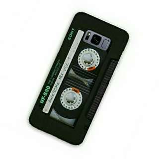 Cassette Sony HF-S90 Samsung Galaxy S8 Custom Hard Case