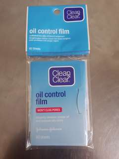 Clean & Clear Oil Control Film 60 sheets