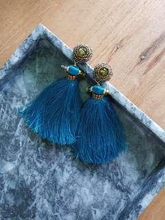 Merriam Batara Tassel Earrings