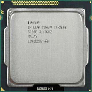 Intel Core I7 2600 3.4 GHZ