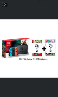 Switch Game Bundle (Neon)(Choose any 2 games)