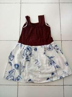 Dress batik adem