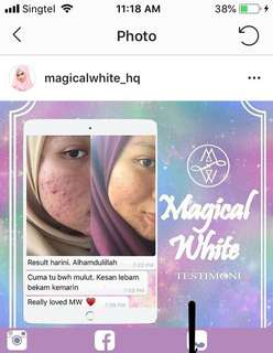 Magical white serum