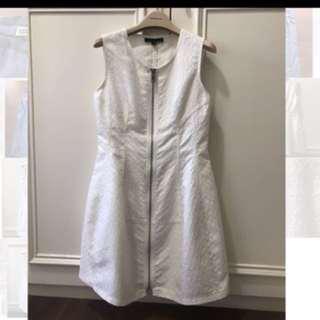 法國品牌JULIE白色洋裝