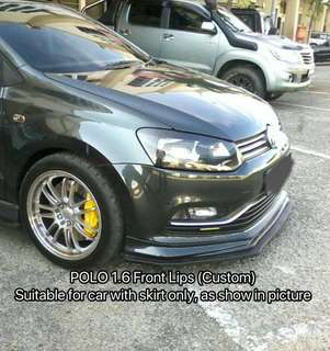 Polo Hatchback Front Lips 1.6