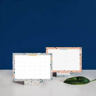 Terrazzo Monthly & Weekly Planner