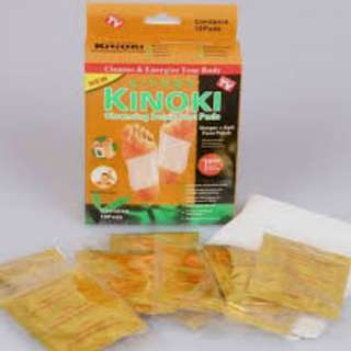 alat penyerap racun Terapi penyakit -kinoki gold emas Ginger