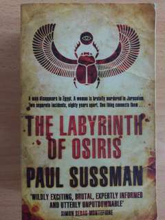 The Labyrinth of Osiris - Paul Sussman