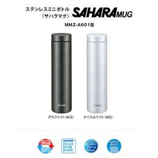 代購 日本直送 TIGER 夢重力 輕量型不銹鋼真空保温杯 600ml MMZ-A601