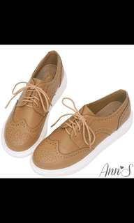 🚚 徵收 Ann's 厚底牛津鞋37號