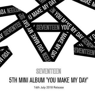 [PREORDER] SEVENTEEN - You Make My Day (Kihno Kit)