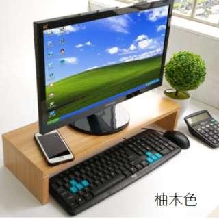 全新Wooden shelf厚實木質 木質層架 液晶電腦屏幕底座 顯示屏增高 置物架 層架 儲物架  KEYBORAD架