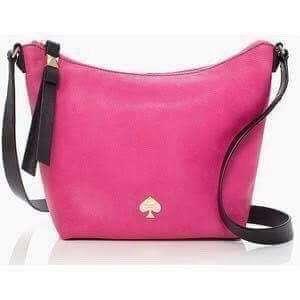 Kate Spade 'Viviene' Pink Satchel Bag