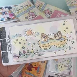 日本迪士尼 chip & Dale 尿袋 4000mAh 包順豐自取
