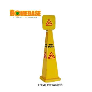 HOMEbase Caution Repair In Progress Cone
