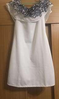 Unica Hija Cocktail Dress (white)