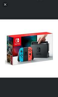 Nintendo Switch Set (Neon)(Local Set)(12 Months Local Warranty)