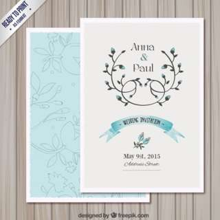 Wedding Card - Customise