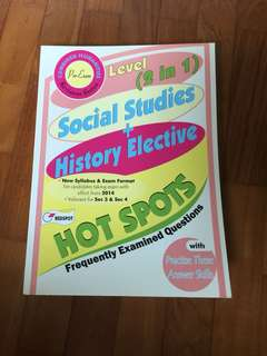 Social studies and history elective