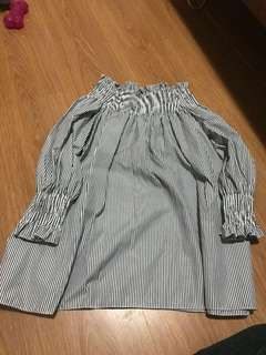Open shoulder stripes from Korea