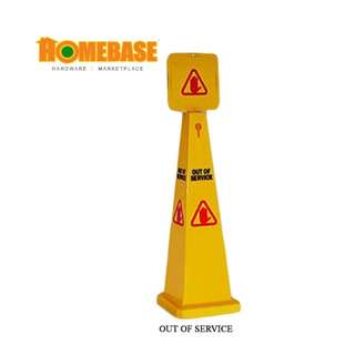 HOMEbase Caution Out of Service Cone